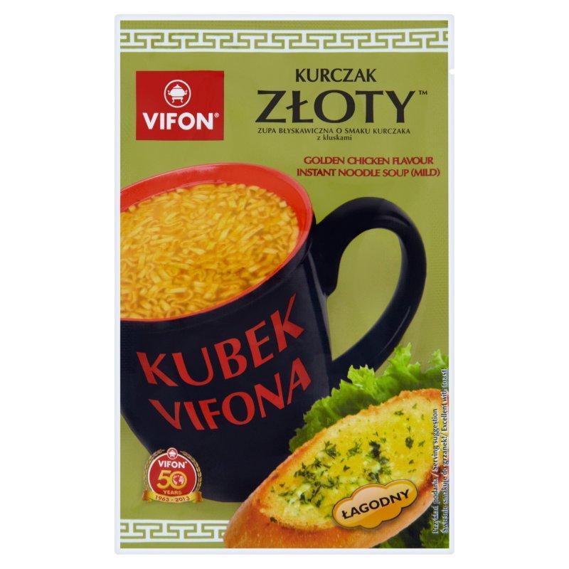 Kup Vifon Kubek Vifona Zloty Kurczak Zupa Blyskawiczna O Smaku